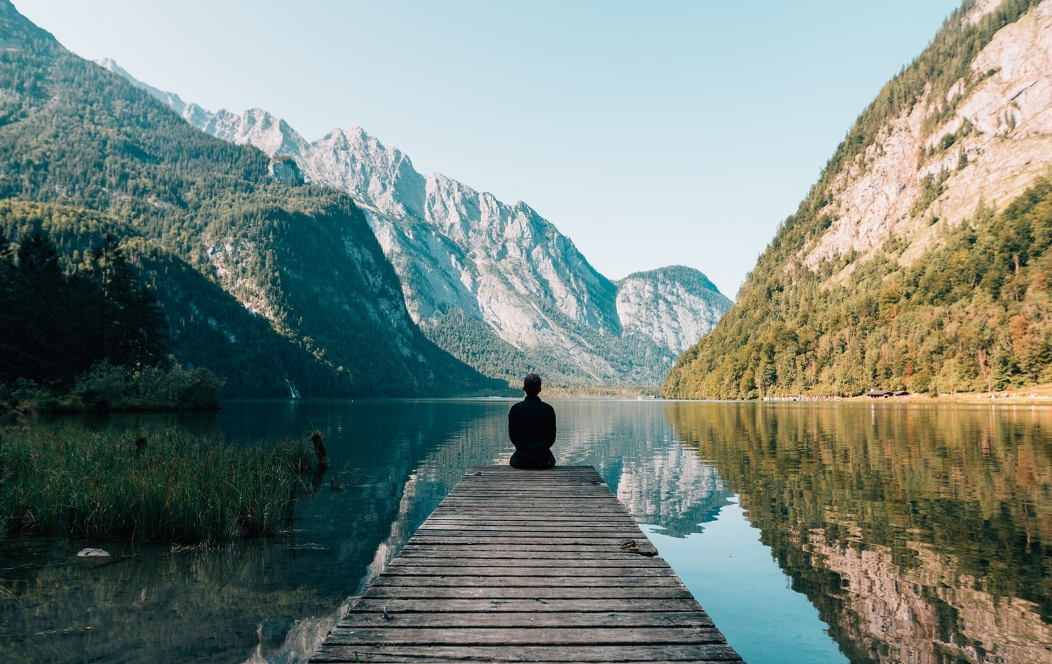 self-reflection in nature